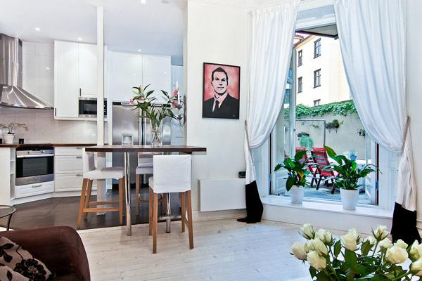 modern apartment scandinavian 7
