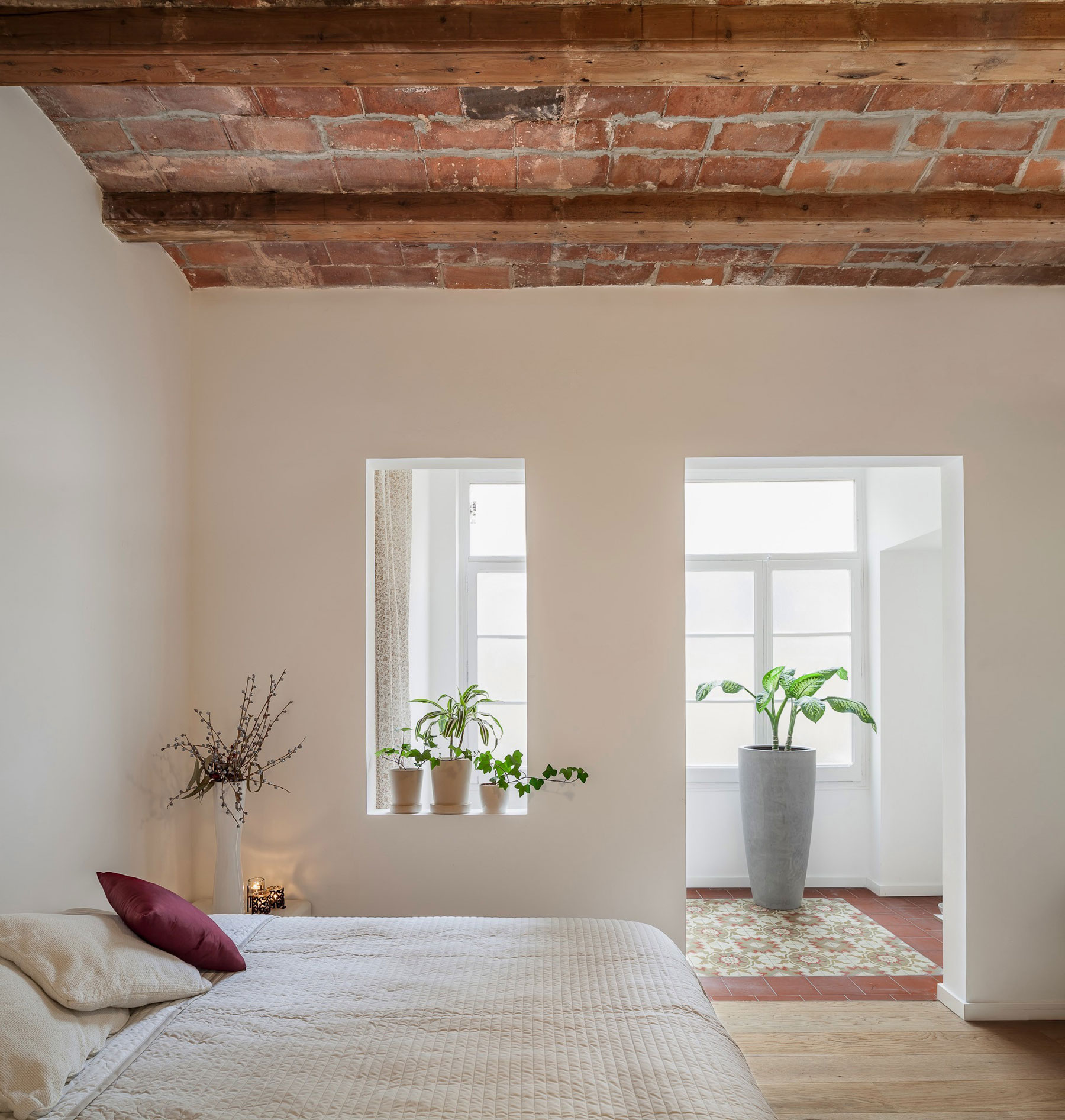 Renovation Apartment in Les Corts balcony