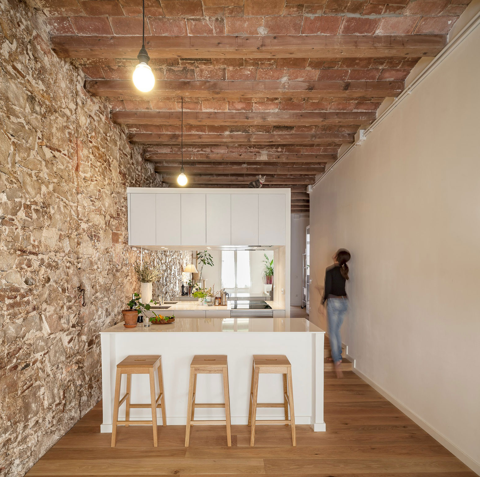 Renovation Apartment in Les Corts kitchen